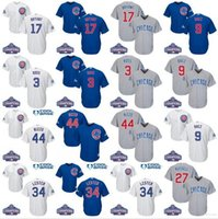 baseballs fleeces - 2016 World Series Champions patch Youth chicago cubs Javier Baez Kris Bryant Rizzo David Ross kids baseball jersey stitch