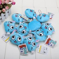 Wholesale Fairy Tail Happy cat Plush toys Keychain Cellphone strap Soft Stuffed Animal Dolls