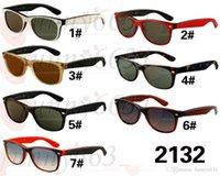 Precio de Gafas de diseño fresco-Gafas de sol del mens de las gafas de sol de las gafas de sol de las gafas de sol de las gafas de sol de los gafas de sol del diseñador del VERANO que conducen los vidrios que montan el espejo del viento