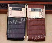 alligator video - Luxury Signature Touch Phone Rose gold Alligator leather G FDD TD LTE Android GB RAM GB ROM Mobile Cell Phone DHL