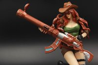 League Of Legends   The Sheriff Of Piltover Caitlyn Figures LOL Champions Action Figures 30cm League of Legends Game Accessories Cute Cartoon Q Model Toys Dolls