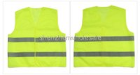 Wholesale High Visibility Working Safety Construction Vest Warning Reflective traffic working Vest Green Reflective Safety Clothing