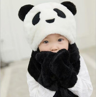 Wholesale Children s Hat Scarves Gloves Set Winter Cold proof Thickening Warm High Quality Ear protect Cute Multi Color Optional For Boys and Girls