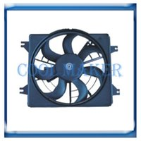 Wholesale auto condenser cooling fan for Hyundai Accent