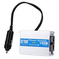 Wholesale XUYUAN W Power Inverter DC V Tiny Computer Converter Electronic USB Port Modified Sine Wave Aluminum Alloy Case Universal