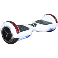 Wholesale 6 Inch LED RGB Mini Smart Hoverboard Two Wheels Bluetooth Electric Scooters Balance Wheel Self Balancing Scooter Skateboard WHole Sale