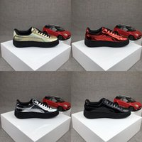 art fabric styles - 2017 New Style Puma Running Shoes Rihanna x Suede Metallic For Men Women Sneakers Athletic Sport Shoes Size