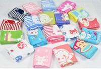 Wholesale 32 strands of pure cotton jacquard cartoon art three layers of gauze the infant child baby children towel towel child towel