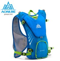 Wholesale AONIJIE Trail Running Nylon Backpack L Outdoor Lightweight Hydration Water Pack Sport Bag for Climbing Cycling Hiking