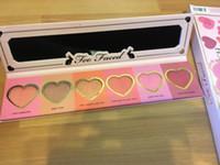 Wholesale Love Flush Blush Long Lasting hour Blush Wardrobe Palette SIX Shades foundation make up blush palette