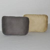 Almohadilla suave de la almohadilla del cuello del coche apoya el amortiguador para conducir tamaño grande gris beige marrón Cuatro estaciones del suede de cuero universal de la PU