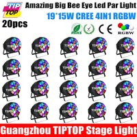 bee flash - Wholesales Price Unit W Led Big Bee Eyes Led Zoom Par Light Linear Dimmer DMX512 CH CH Channels Flash Strobe