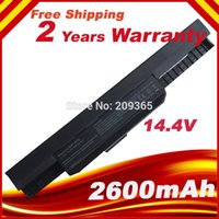 Wholesale V cell battery For Asus X54H X53U X53S K43 K53E K53U A53S X84S A43 A53 A53E X44 X43 K53J K53S K53SV A43 A41 K53 A32 K53