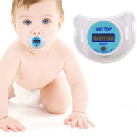 best baby pacifiers - Health Monitors Baby Nipple Thermometer Termometro Baby Pacifier LCD Digital Mouth Nipple Pacifier Chupeta Termometro Testa Best