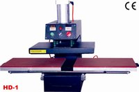 Wholesale D1 m Heat Transfer Machine Flat Press Print Fabric Non woven Crystal Leather Textile Cotton Nylon Terylene Glass Metal Ceramic Wood Flag