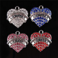 accesories for bracelets - New Arrival Lovely Heart LAWYER Crystal Rhinestone Charms Pendant For DIY Necklace Bracelet Party Birthday Accesories Gift
