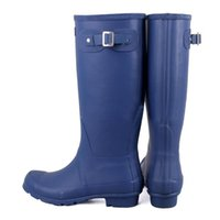 Wholesale New Arrival Hunter Boots Sale Waterproof Boots Hunter Wellies Over Knee Boots Rain Boots hunter Muti color rain boots women black