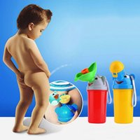 Wholesale Lovely Elephant Design Kids Leak proof Travel Urinal with High capacity Children s Cartoon Portable Urinals For Girls and Boys