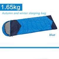 Wholesale Camping winter camping sleeping bag outdoor sleeping bag men and women sleeping bag outdoor camping equipmentOutdoor travel equipment