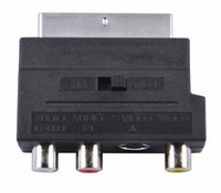 Adapter adapter scart video - RGB Scart to Composite RCA S Video AV TV Audio Adapter Converter Scart to RCA
