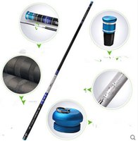 Wholesale 3 M M M M M Telescopic Fishing Rods Spinning Fish Hand Tackle Sea Carbon Fiber Pole Portable
