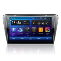 Wholesale 3G G Android DIN Car DVD GPS for Skoda Octavia headunit radio video player with wifi Capacitive