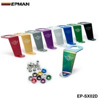 Wholesale EPMAN Aluminum Radiator Stay Bracket for honda CIVIC EG6 EG9 EG Si for Password JDM Style EP SX02D