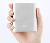 Wholesale 10400mah Xiaomi Power Bank Universal External Battery Charging Power for iphone s plus s samsung S7 S6 Xiaomi HTC Huawei ZTE LG Sony