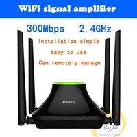 Multi-fonction A3 maison sans fil routeur intelligent grâce à haute vitesse et stable fibre optique à large bande WiFi répéteur Stable, à grande vitesse,