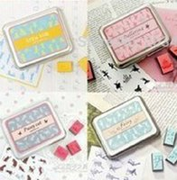 as pic antique stamp collection - Mulit option en lovely style vintage Antique Stamps seal stamper collection diary gift craft toy DIY tool whcn