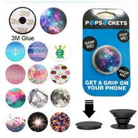 best sockets - Universal PopSockets Expanding Stand and Grip Flexible phone holder pop Socket M Glue for iphone plus note Tablets Google pixel best