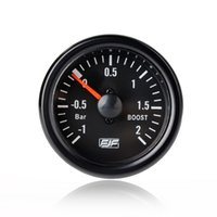 Wholesale Universal Car Styling Instrument quot mm Black Tinted bar boost Car Smoke Gauges Meters