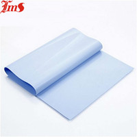 Wholesale x200x0 mm Blue Adhesive backed foam Heatsink Silicon Rubber Mat LMS TC150