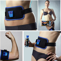 Wholesale Electric Slimming Body Massage belt AB Gymnic massager Muscle Arm leg Waist Massage relaxation Belt Health Care therapy