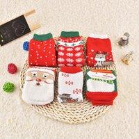 baby golf socks - 2016 New Cartoon socks in winter baby socks terry thick warm Christmas stockings explosion children socks