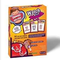 Wholesale Watch Ya Mouth Family Edition the Authentic Hilarious Mouth Guard Party Game Novelty Gag Toys Practical Jokes Christmas Gift