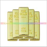 Wholesale Hot Sale Generic GB Gold Bar USB Flash Memory Pen Drives Sticks Disks GB Pendrives Thumb Drives
