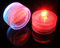 Wholesale LED electronic candle lamp diving candle lamp circular shaped waterproof lamp fish tank diving celebration wedding
