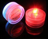 Wholesale LED electronic candle lamp diving candle lamp circular shaped waterproof lamp fish tank diving celebration wedding
