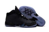2017 la nueva venta al por mayor embroma los zapatos de baloncesto de los cabritos que saltan los 30s negros La edición limitada calza los zapatos de los amaestradores de las zapatillas de deporte de alta calidad tamaño 39-46