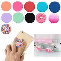 Wholesale For iPhone PopSocket Fashion Air Sac phone holder Expanding Phone stand Grip Pop Socket Moun For Samsung Huawei Tablets Without logo