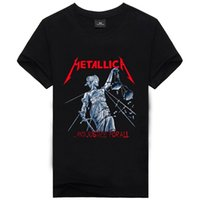 Men band t shirts cheap - Metallica Rock Band Fashion Printed Tee For new High Quality Cotton men s T Shirt cheap sell