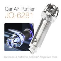Wholesale Ionkini Mini Portable Negative Ion Car Air Purifier Ionizer JO
