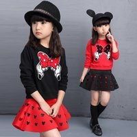 bargain suits - Children s wear new Age season girls two piece cuhk children s long suit bargains two piece van animal motifs