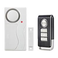 Wholesale Smart dB Security Alarm System Door Window Siren Magnetic Sensor Alarm Warning System Wireless Remote Control Door Detector Burglar Alarm