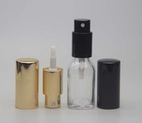 acid etched glass bottles - 15ml Portable Mini Glass Perfume Bottle Refillable Empty Fragrance Scented Vials Atomizer Spray Bottle Packing Bottles