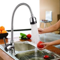 Wholesale New Solid Brass Kitchen Mixer Cold and Hot Kitchen Tap Single Hole Water Tap Kitchen Faucet