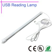 Wholesale LED USB Reading Lamp Dimmable Colors Table lamp Ultrathin Super Bright