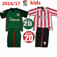 Wholesale Mixed Order kids BarcelonaS MESSI SUAREZ NEYMAR JR Athletic Bilbao jersey kit Home Away SUSAETA GURPEGUI MUNIAIN Football shirt