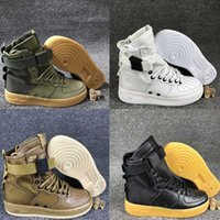air force running - With Box New Men Women High Air Force SF AF1 Running Shoes Fashion Unisex Special Field Forces Urban Utility Boots Sneakers Sports Shoes